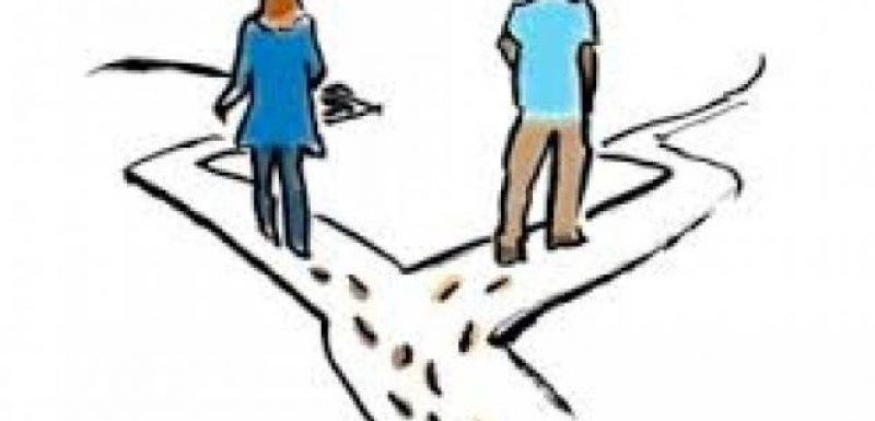 أغرب قصة طلاق بين زوجين
